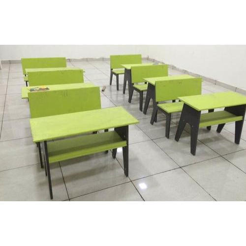 School Desk And Benches
