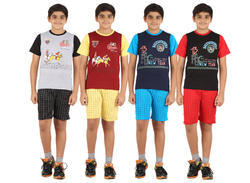 Cotton Boys Night Suit N5555