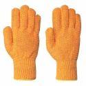 Criss Cross Orange Colour Double Side Glove