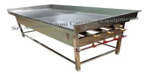 Silver Stainless Steel DOSA STOVE, For Restaurant