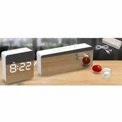 Mirror Finish Table Clock