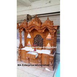 BAPS Swaminarayan Mandir Temple With Base Drawers And Cabinets