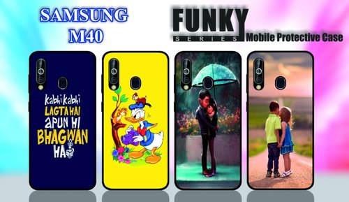 more photos 6d59b 02143 Funky Print Samsung M 40 Mobile Cover