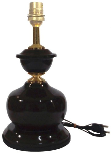 RDC Modern/Contemporary Brown with Golden Metallic Table Lamp Base For Home