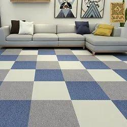 PP Carpet Tiles, Thickness: 5-6 mm, Size: 50 cm x 50 cm