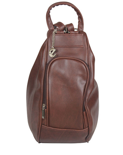Merci Fay Brown Convertible Backpack