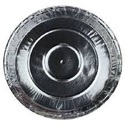 Silver Plain Paper Plate, Size: 12 Inch, Paper Gsm: 100