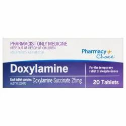 Doxylamine 25 Mg Tablets