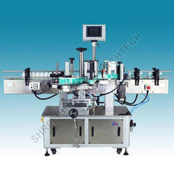 Single, Double Side Flat Bottle Labeling Machine