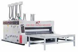 Karunya Semi Automatic Flexo Printer Slotter