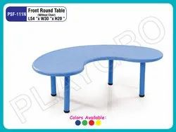 PSF 111N Front Round Kids Table
