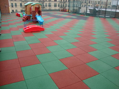 Outdoor Rubber Flooring रबर क फर श