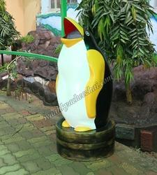 Penguin Shape Dustbin