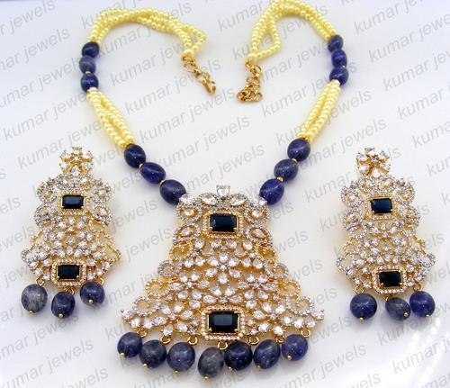 Kumar Jewels Designer artificial Necklace Set