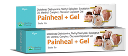 Painheal  Gel 30gm  - Diclofenac Diethylamine, Methyl Salicylate, Eucalyptus Oil,Menthol, Camphor