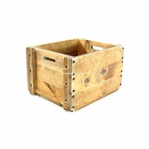 Hardwood Packaging Crate