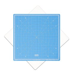 Rotatable Cutting Mat (Sky Blue, 13 Inch x 13 Inches)