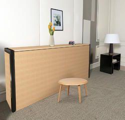 horizontal single size wall bed
