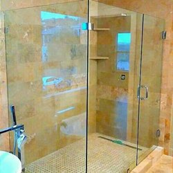 Transparent Cubicle Shower Glass