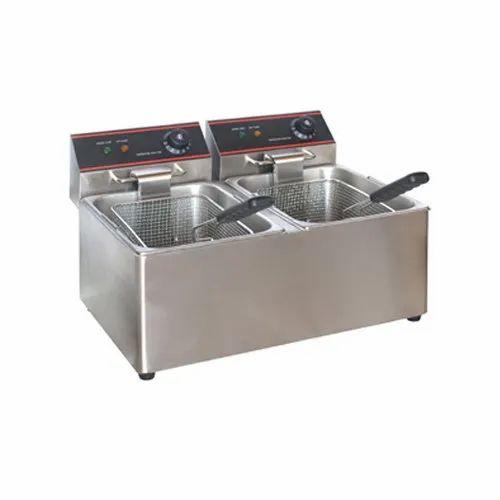 Double Deep Fryer 8 8 LTR