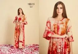 Designer Rayon Gown