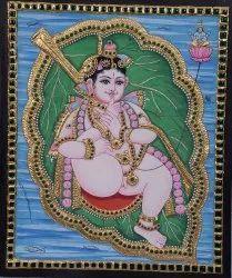 Kannan Tanjore Painting