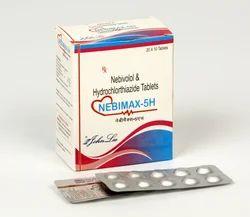 Nebivolol Hydrochloride 5 Mg Hydrochlorothiazide 12.5 Mg Tablets