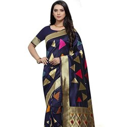 Paper Silk Soft Weaving Saree