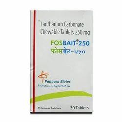 Lanthanum Carbonate Chewable Tablets
