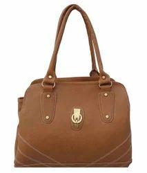 Plain Ladies Brown Bag