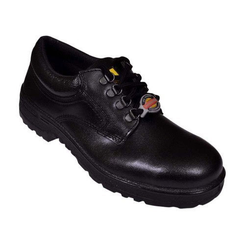 Liberty Warrior Leather Black Safety