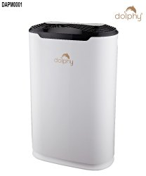 White Air Purifier with HEPA Filter