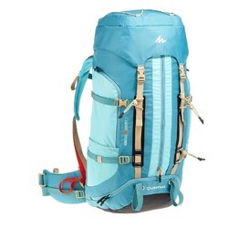 Mountain Backpack Sky Blue Women Easyfit Trekking Backpack