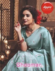 Apple Ghoomar Vol-2 Silk Saree