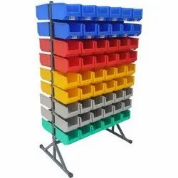 25 Double Sided Bin Stand