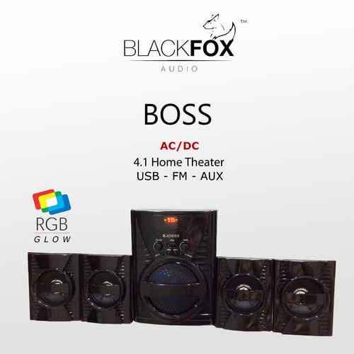 Blackfox Boss 4 1 Home Theater System Ac Dc Id 15550958330