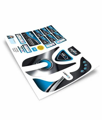 Adhesive paper ro designer sticker
