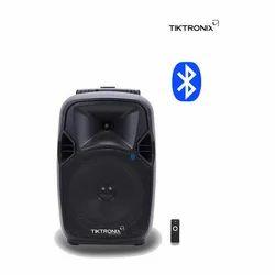 Tiktronix Black Bluetooth Trolley Speaker, 50 W