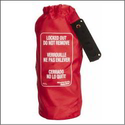 Red Nylon Lockout Cinch Bags