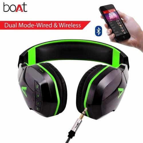 612b4bc514d Jazzy Green Viper Green Boat Rockerz 510 Wireless Bluetooth Headphones