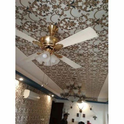 Vinyl Roof Wallpaper Rs 1500 Roll Shri Ganesh Furnishing Id 19800415891