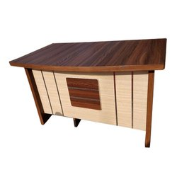 Reyo Computer Wooden Table
