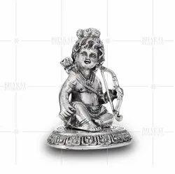White Metal Balram Statue