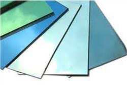 Multicolored Tinted Glass