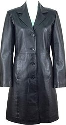 Pure Leather, Albatross Manufacturer and Exporter of Women Designer Real Leather Coats