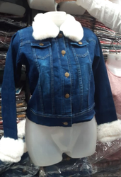 Women Full Sleeves Vivacity Denim Jacket