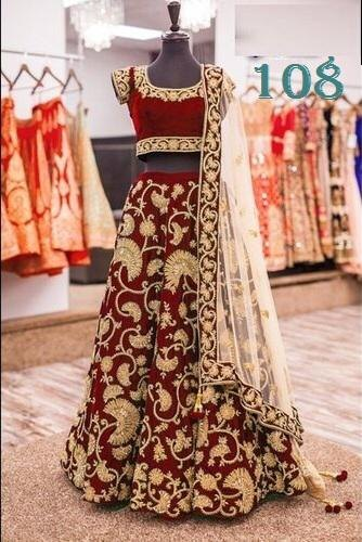 cfacedd3c2fa BRIDAL LEHENGA - Gown Manufacturer from Surat