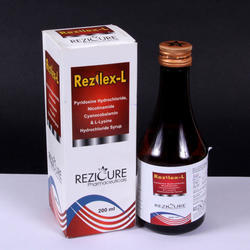 L-Lysine B-Complex Syrup, Packaging Size: 200 mL