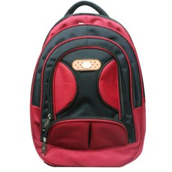 Red-Black College Bag