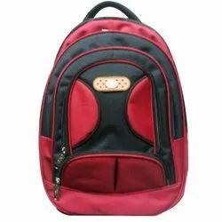 Red-Black College Bag